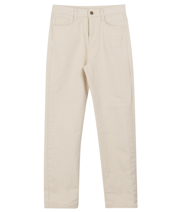QUIETLABStraight-Cut Solid Color Pants