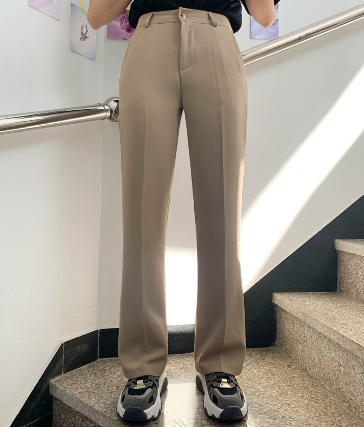 NEVERM!NDStraight Cut Side Pocket Slacks