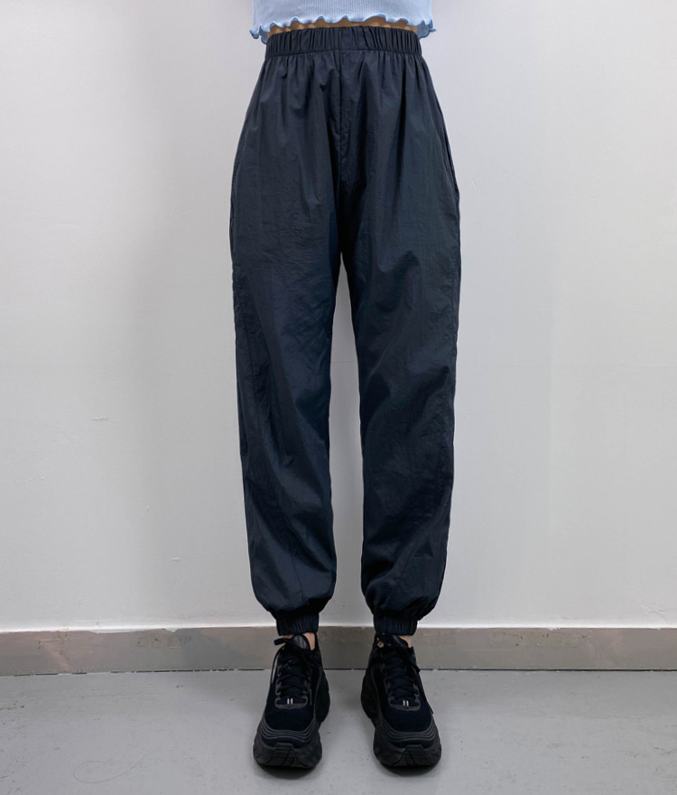 QUIETLABBasic Elastic Waist Jogger Pants