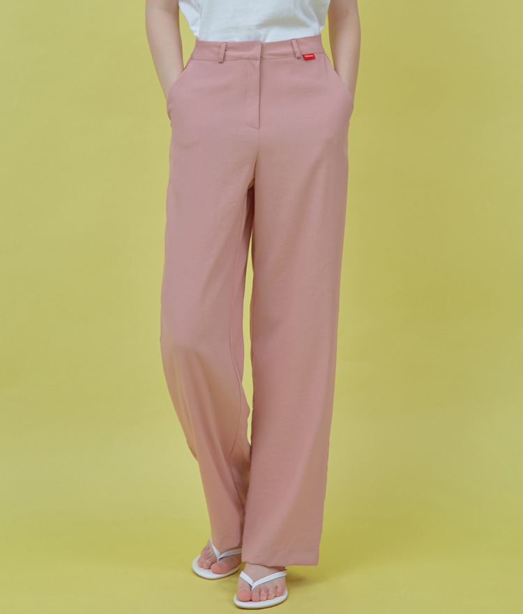 HEART CLUBIndie Pink Wide-Leg Pants