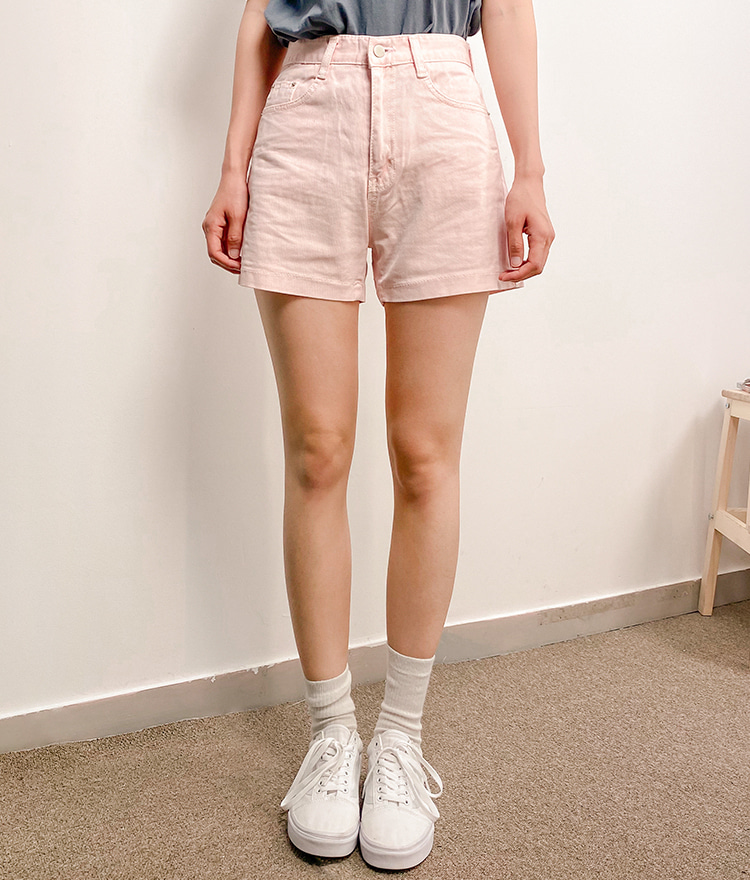 NEVERM!NDBasic Pastel Shorts