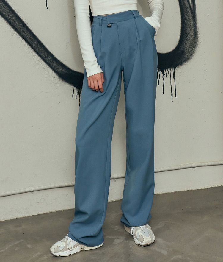 HIDEIndie Blue Loose Leg Pants