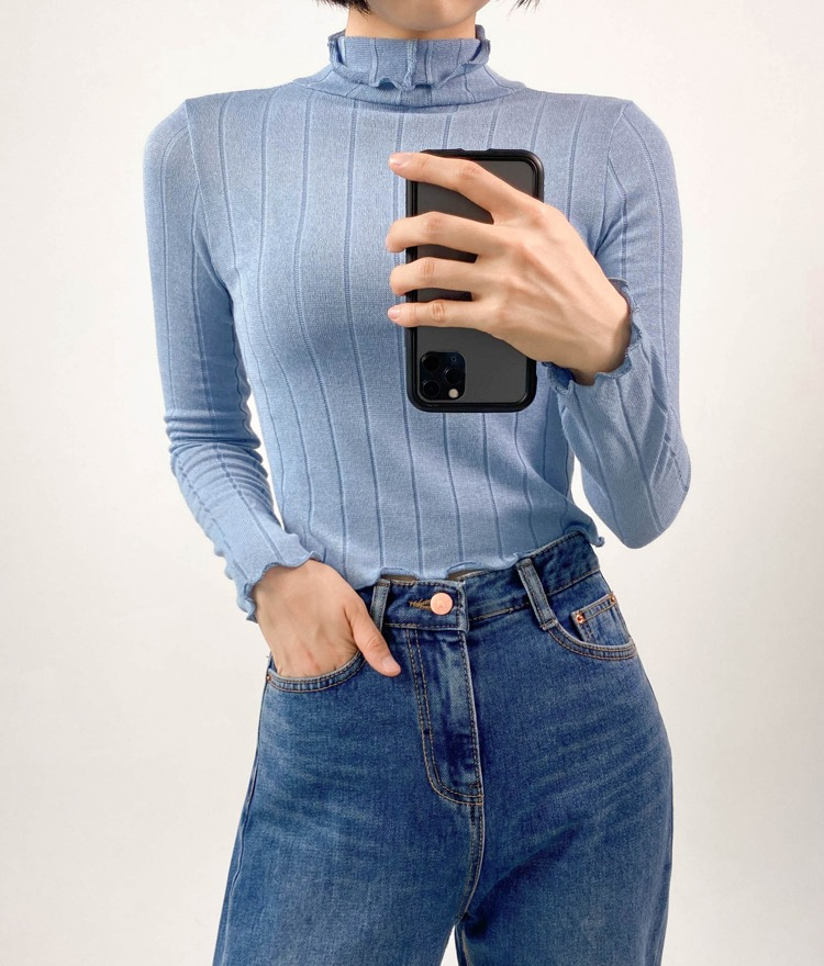 QUIETLABLettuce Edge Turtleneck Top