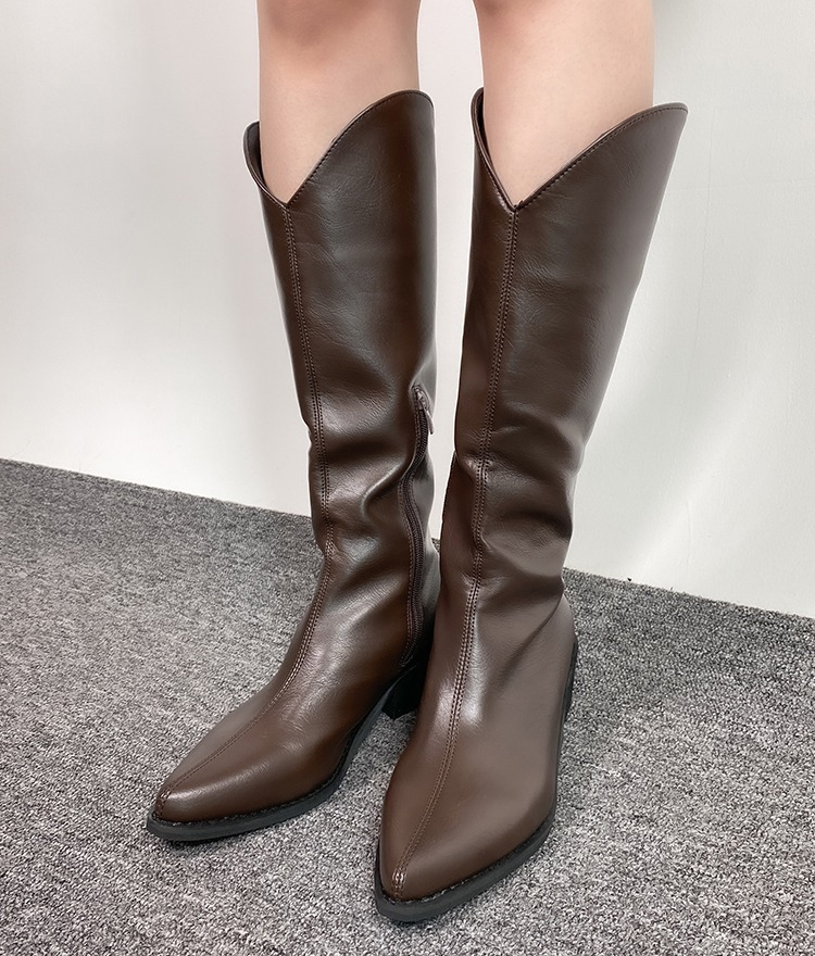 QUIETLABPointed Toe Tall Boots