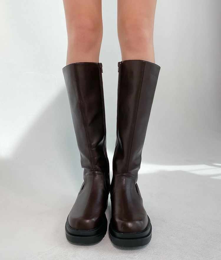QUIETLABSide Zip Tall Boots