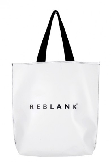 REBLANKTYPOGRAPHY SHOPPER BAG
