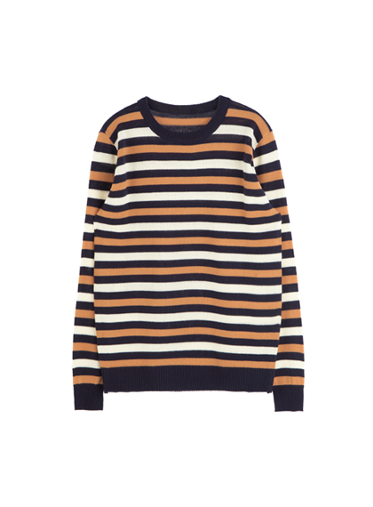 Knitted Stripe Sweater