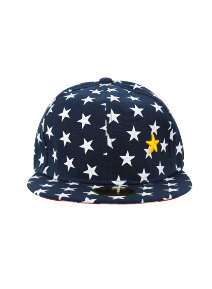 Star And Stripe Snapback Cap