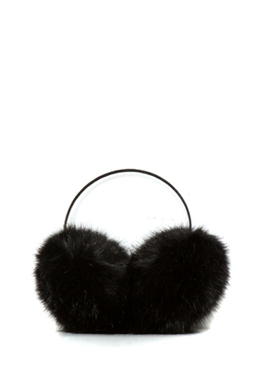 Large Fur Earmuffs