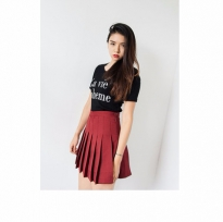 Classic Pleat Tennis Skirt | mixxmix | Shop Korean fashion casual ...
